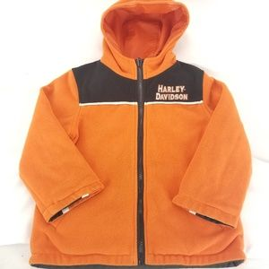 Harley Davidson HD Youth Reversible Jacket Size 5